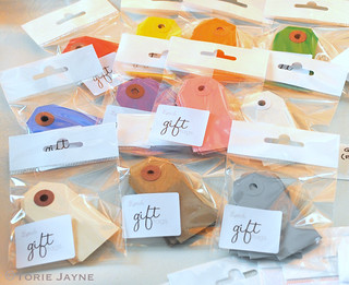 Gift tags from Peach Blossom