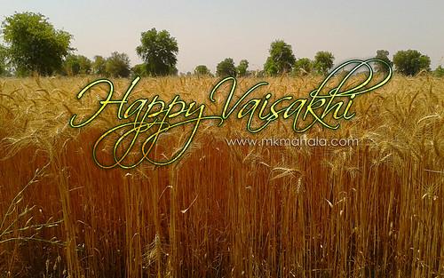 Wish you all a very happy vaisakhi :) by Manoj Mahala