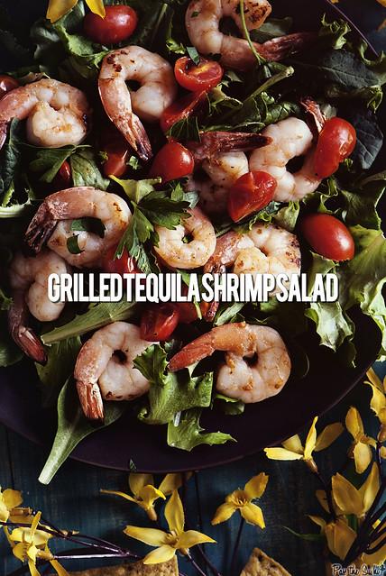 Tequila Shrimp Salad via PasstheSushi.com