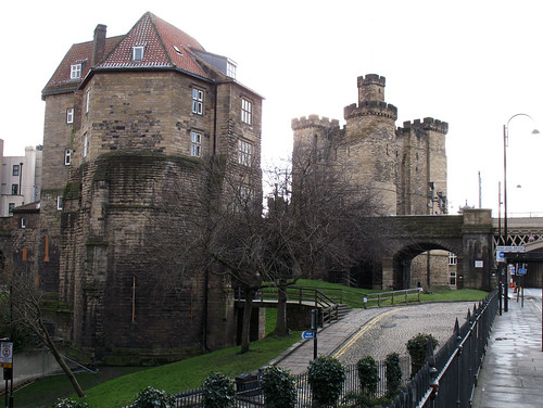 The Castle Keep and The Black Gate