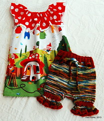 Gnomeville Bloomers and Dress Set - Small