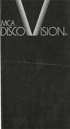 1978 MCA DiscoVision