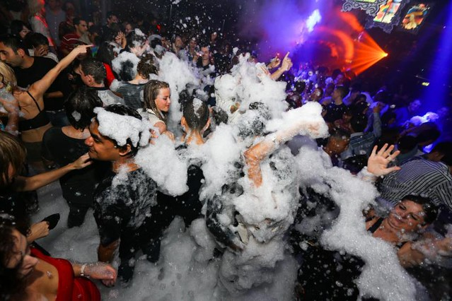 Ibiza Foam Party