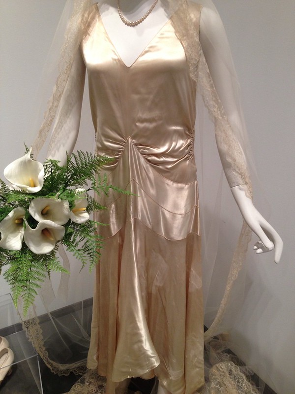 1920's wedding gown