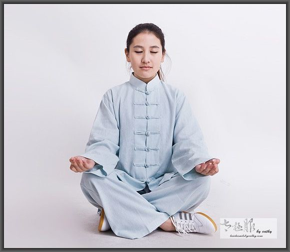 Tai Chi suit/meditation clothing Tai Chi suits by Cathy