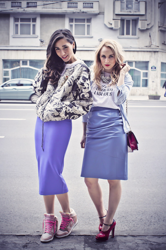 street style with diana enciu and alina tanasa, fabulous muses