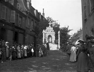Festival de la Saint-Paul à Sarreguemines (ca. 1910)