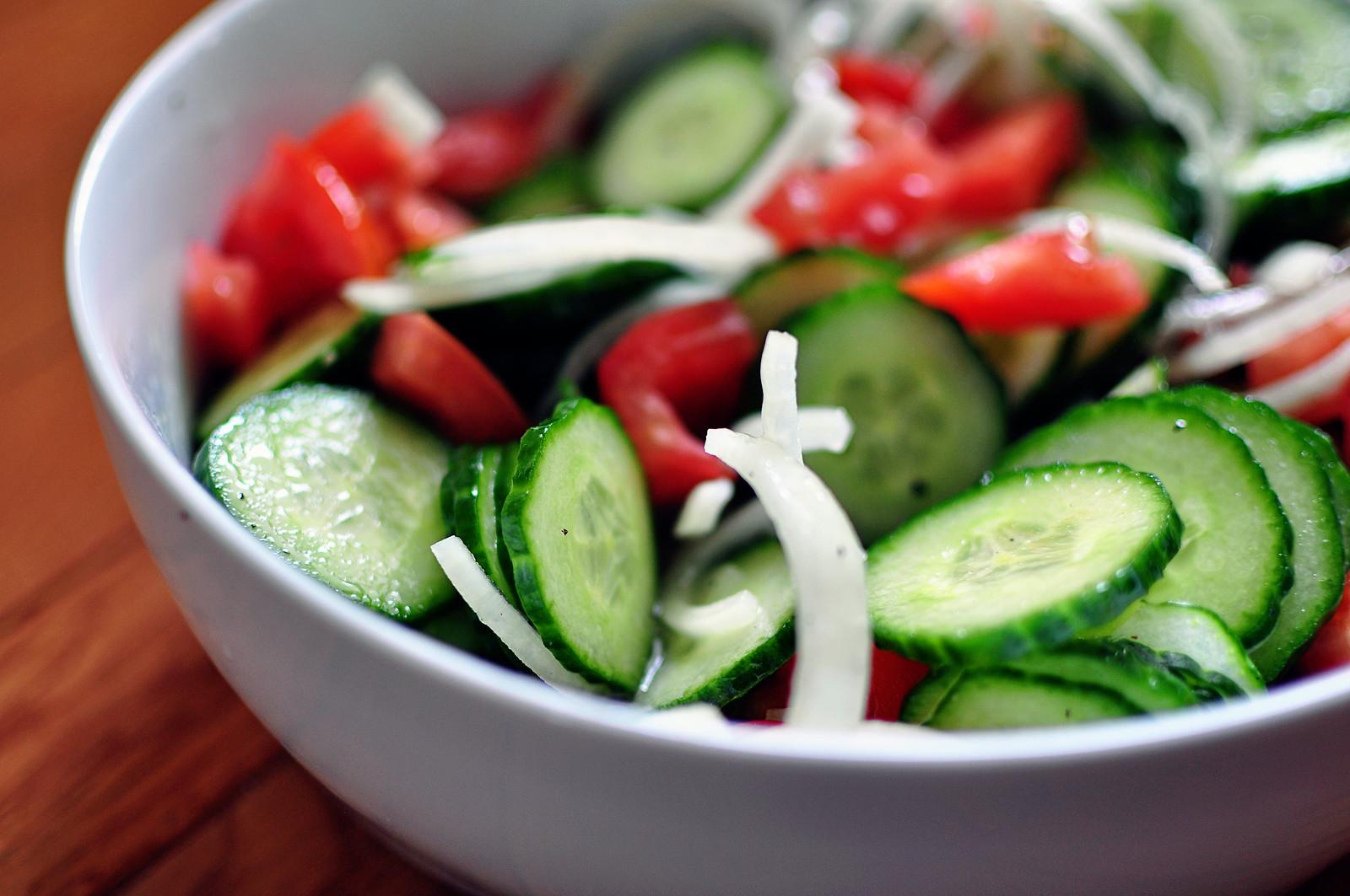 Cucumber Tomato Salad 1