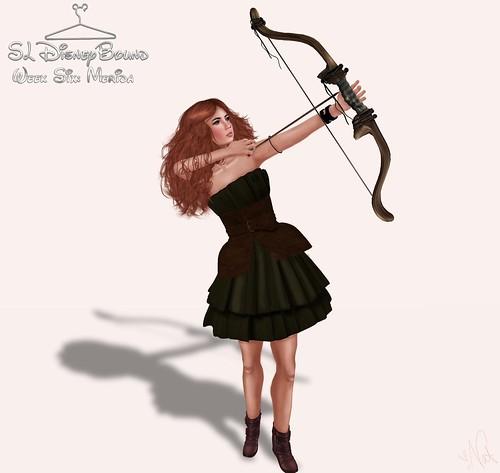 SL DisneyBound - MERIDA ; ONE