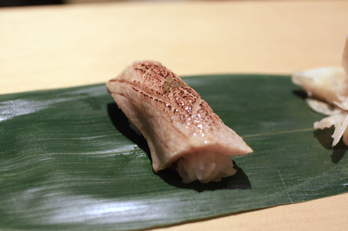 Seared Fatty Tuna (Toro) Nigiri