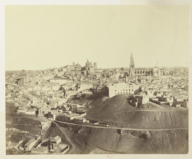 Vista de Toledo hacia 1858. Fotografía de Louis Léon Masson © Bibliothèque Nationale de France
