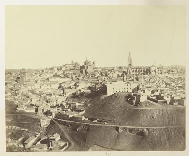 Vista de Toledo hacia 1858. Fotografía de Louis Léon Masson © Bibliothèque Nationale de France
