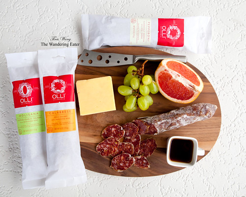 Olli Salumeria's Molisana, Calabrese, and Pepperoni salami