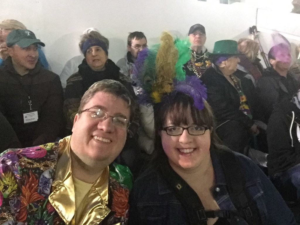 Ken and Melissa at Mardi Gras