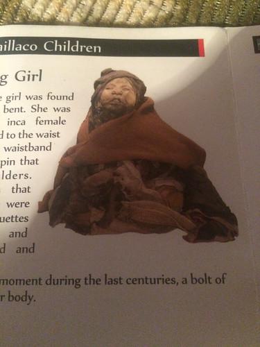 Salta: el Museo de Arqueologia de Alta Altura (le Musée d'Archéologie de Haute Altitude) et la momie d'une petite fille de 6 ans