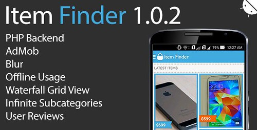 Item Finder MarketPlace Full Android App v1.0.2