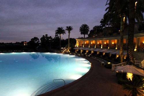 The COLISEUM Pool @ night