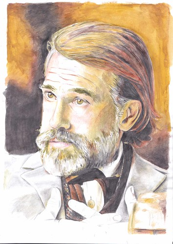 Christoph Waltz by Fay! Quagoctober