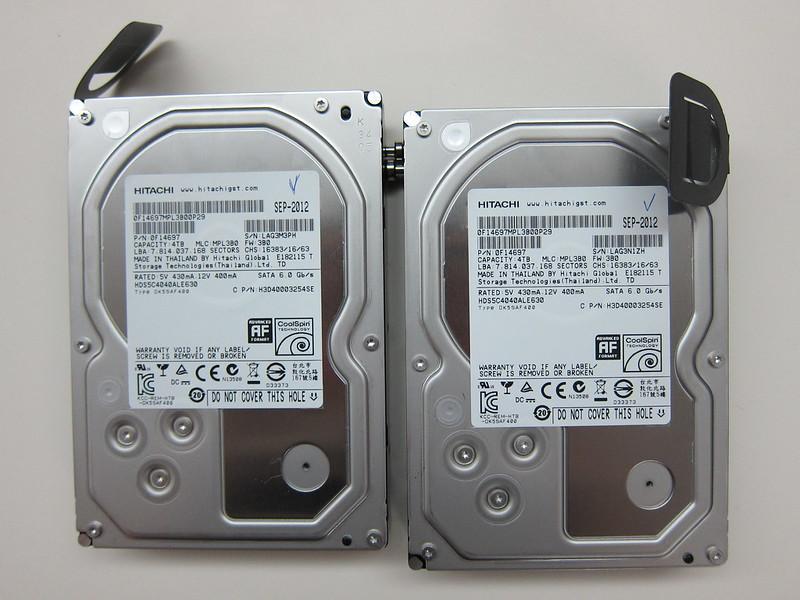 Western Digital My Book Thunderbolt Duo - Hitachi HDD