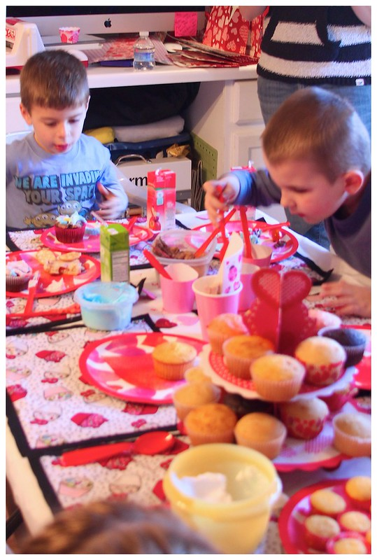 Valentine's Day Cupcake Party 2013 20
