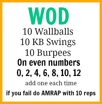 friday wod