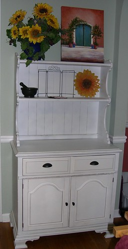 Refinished Kitchen Hutch