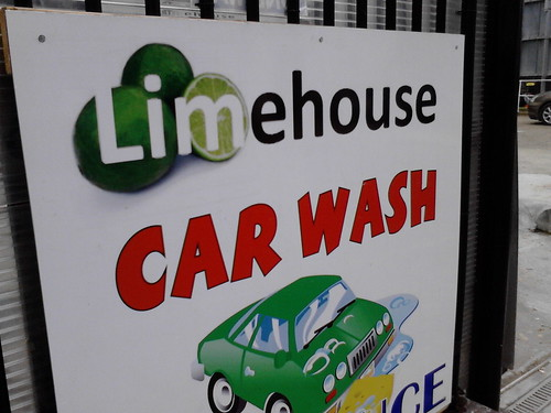 Limehouse Car Wash by LoopZilla
