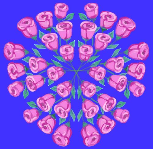 Kaleidoscope Roses by randubnick