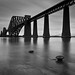 Long Exposure - B&W Forth Rail Bridge by Gareth Weeks