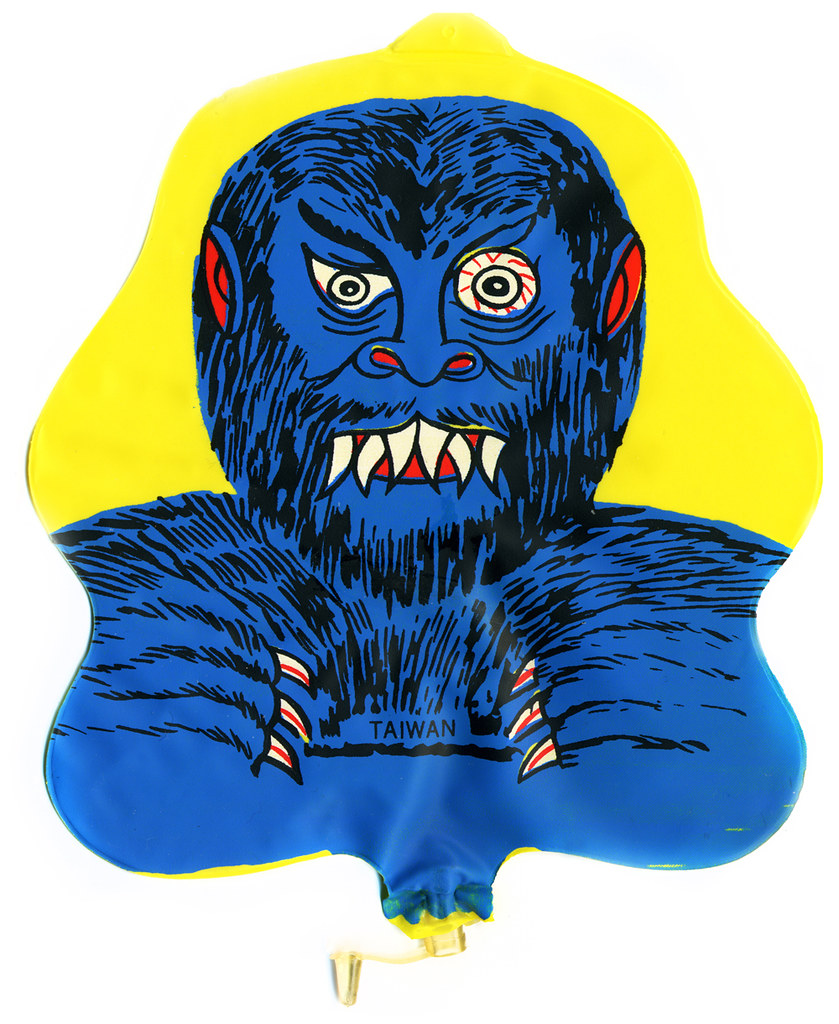 Inflatable Monster Heads by Nadels & Sons, 1974 (1)