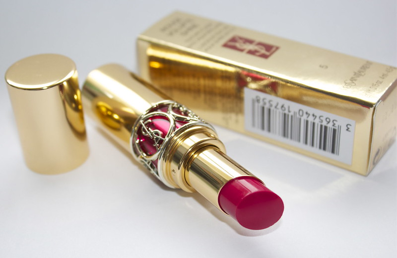 ysl rouge volupte shine fuchsia in excess