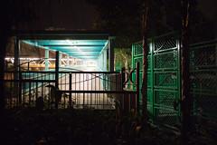 """""""光速隧道 Light Speed Tunnel"""" / 人流建築夜之形 Human Logistics Architecture Forms at Night / SML.20130216.EOSM.02223"""