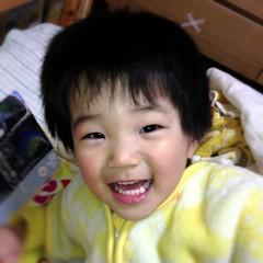 寝る前のとらちゃん 2013/2/19
