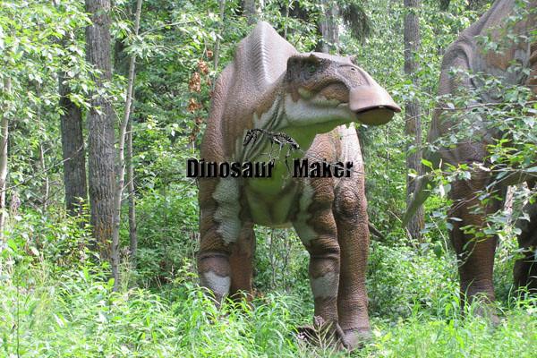 Manufacturing Animatronic Dinosaur Hadrosaur