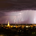 Lightning over Bendigo by bendyclickr