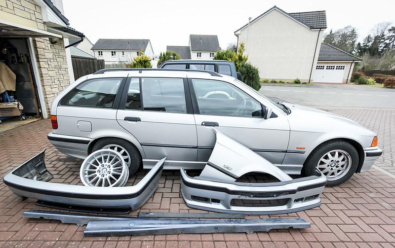 E36 Touring Oem Build