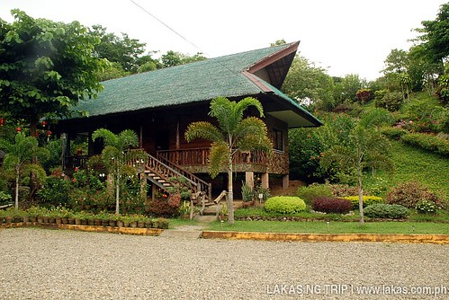 One of the dormitory type lodge at Sanctuary Garden Resort