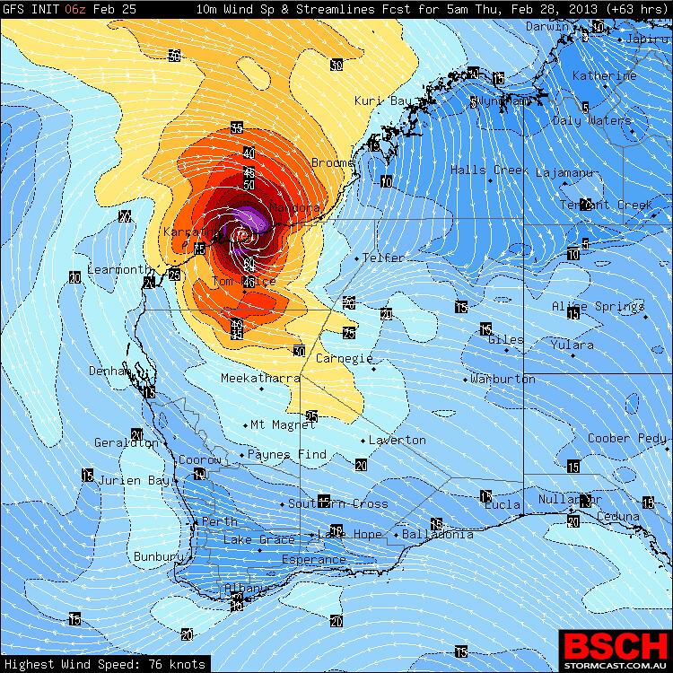 TheWAWG Forum - View topic - Tropical Cyclone Rusty Feb 2013