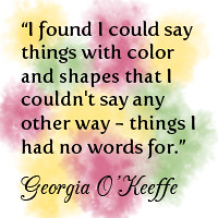 w9 - Georgia O'Keeffe