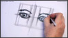 learn how to draw two eyes 018