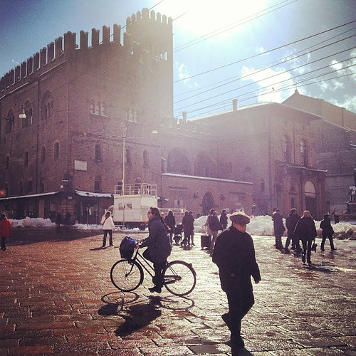 Bologna with the sun by la casa a pois