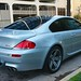 2006 BMW M6 V10 Silver on Black and Cream White Leather in Beverly Hills @porscheconnection P3912A 796