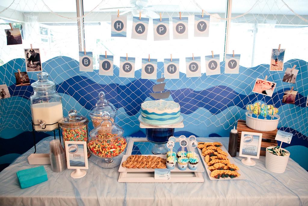 Brayden's Under the Sea Birthday Party-66