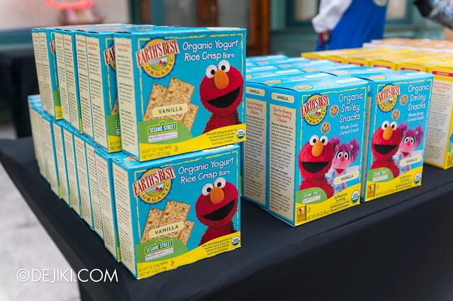 Sesame Street Carnival - Elmo Rice Crisp Bars