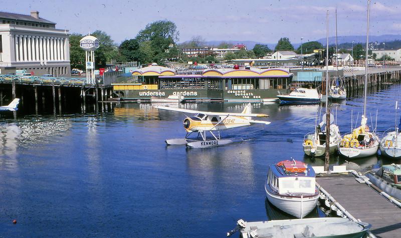 1971 Inner Harbour Victoria