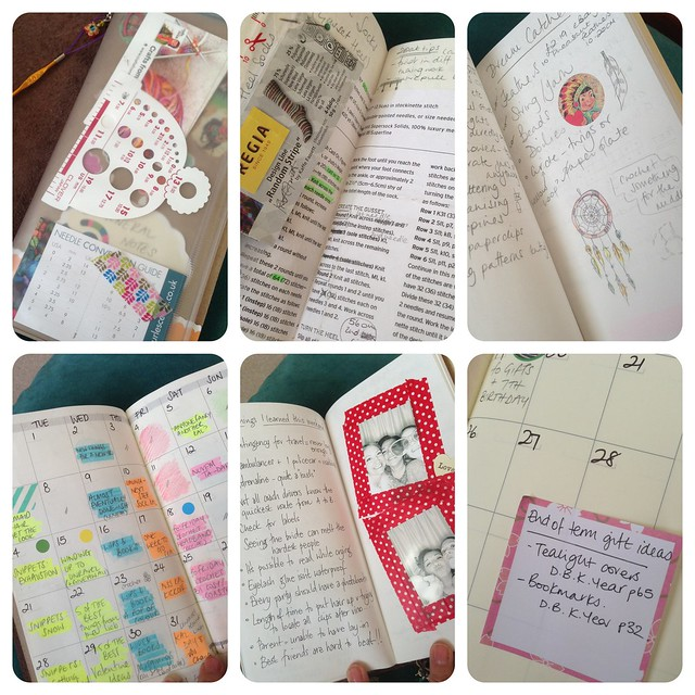 How I use my Midori Traveler's Notebook for crafting & blogging