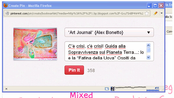 create pin, crea il pin
