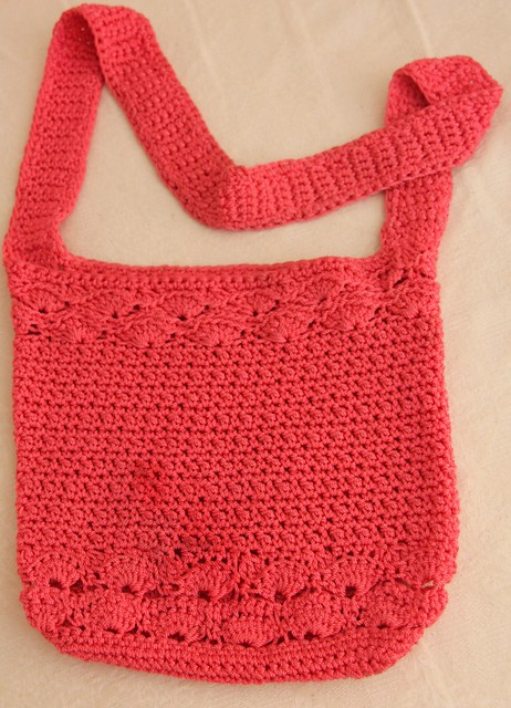 Sew Paint It Crochet Messenger Bag