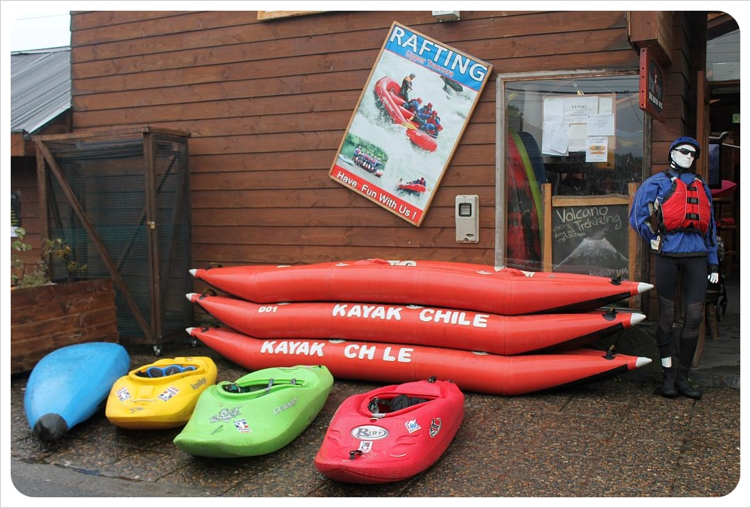 pucon kayaks
