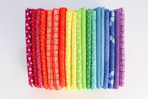 Last week's fabric dyeing by Jeni Baker
